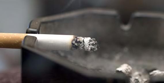 Tupakan hajun poistaja.