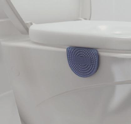 WC -istuimeen kiinnitettävä ilmanraikastin.